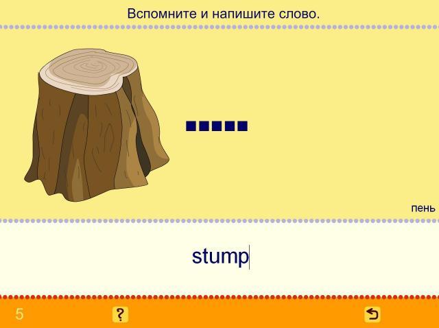 Учим английские слова. Деревья_6