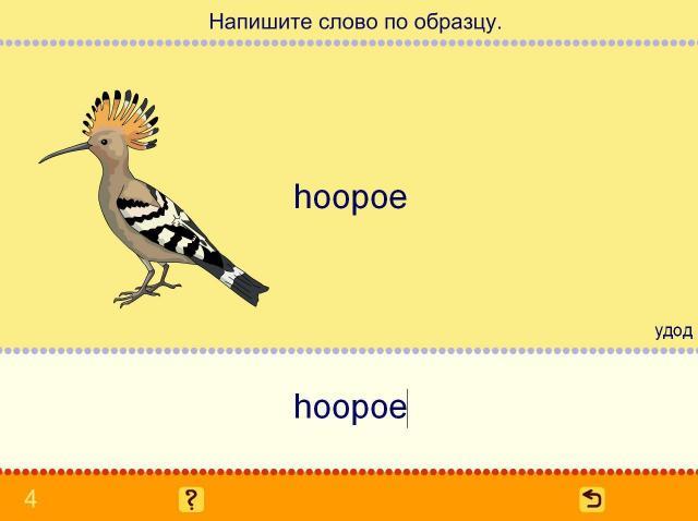 Учим английские слова. Птицы_4